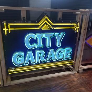 City Garage Neon