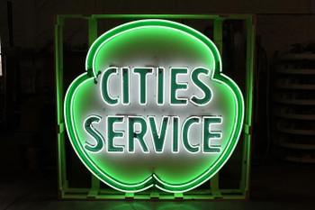 Cities Service Neon