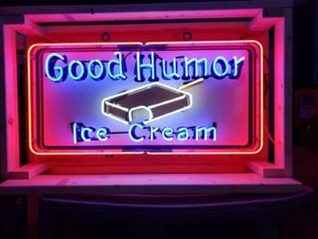 Good Humor Ice Cream Neon
