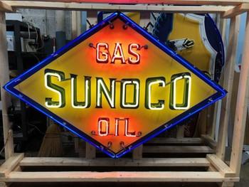 Sunoco Oil Neon
