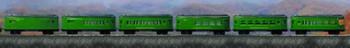 "National Parks Ltd"" Passenger Train Buddy ""L"" Six Cars"