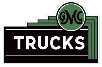 GMC General Motors Trucks Plasma Cut Garage Metal Sign (small)