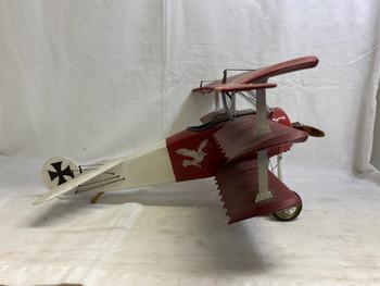 Authentic Models Fokker Triplane Model Airplane