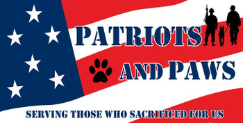 Patriots and Paws Serving Those Who Sacrificed for Us