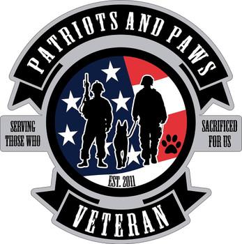 Patriots and Paws Veteran