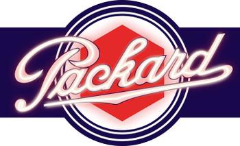 Packard Faux Neon Plasma Cut Metal Sign