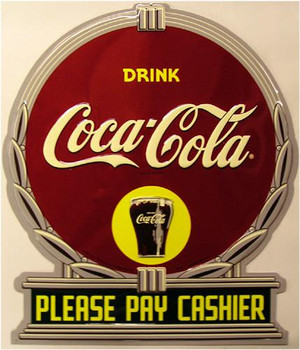 Coca-Cola Please Pay Cashier (disc)