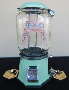 Columbus Model 21 Penny Bulk Dispenser 1930's with Ash Trays