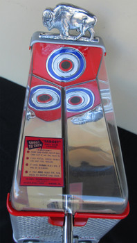 Buffalo Target Ball Gum Penny Shooting Arcade Circa 1940's Fully Restored