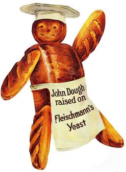 John Dough Boy Plasma Cut Metal Sign