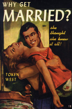 Why Get Married?  Magazine Cover Metal Sign