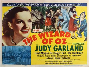 Wizard of Oz Advertising Metal Sign