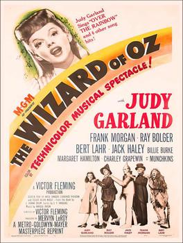 Wizard of Oz Musical Advertising Metal Sign
