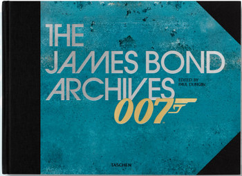 """The James Bond Archives. """"No Time to Die"""" Edition (English) Hardcover Book"""