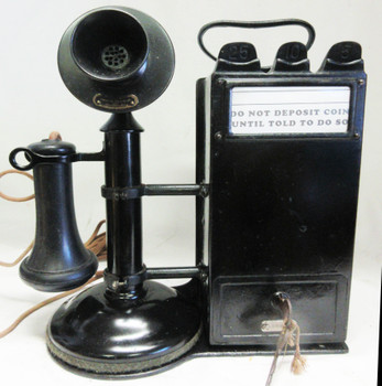 Western Electric Candlestick with Gray Pay Station