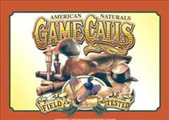 Air Waves - Game Calls Metal Sign