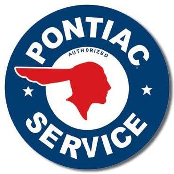 "Pontiac Service 12"" Round"