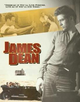 James Dean Dream Metal Sign