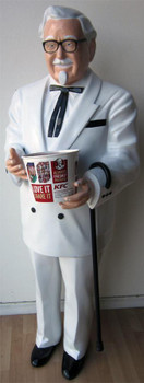 """Colonel Sanders Full Size Figure 70"""" tall"""