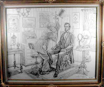 Lincoln in the Optometrist Office 1
