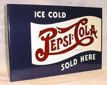 Pepsi Cola Flange Sign