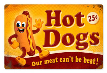 Hot Dogs 25c