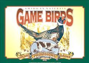 Air Waves - Game Birds Metal Sign