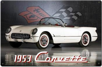 Corvette 1953 Metal Sign