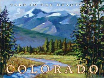 Colorado Metal Sign