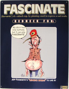 Fascinate Redneck Definition