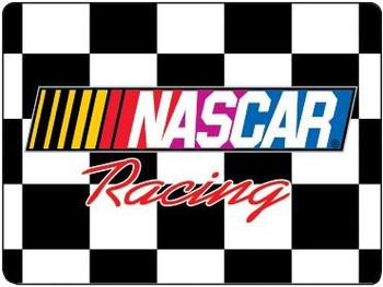 NASCAR Logo (disc) Metal Sign