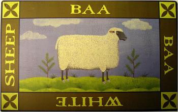 Baa White Sheep