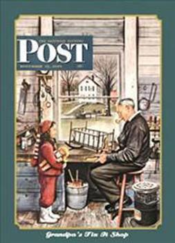 Sat. Evening Post-Grandpa's Fix It Shop