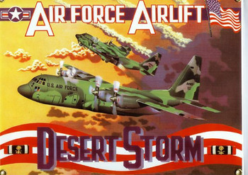 Desert Storm-C130 Hercules