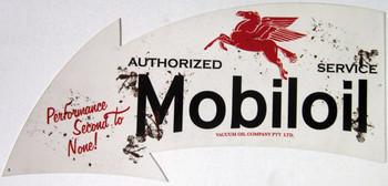 Mobiloil Arrow Sign