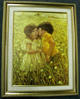 First Kiss Signed Litho