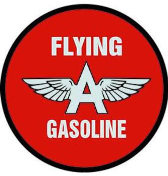 "Flying A Gasoline 18"" Disc"