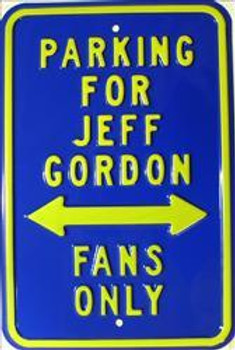 Parking For Jeff Gordon