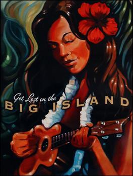 Big Island Metal Sign