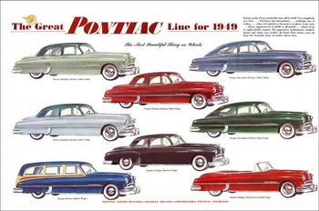 Poniac Advertisement 1949