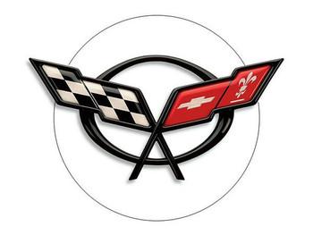 """Corvette Flags 18"""""""