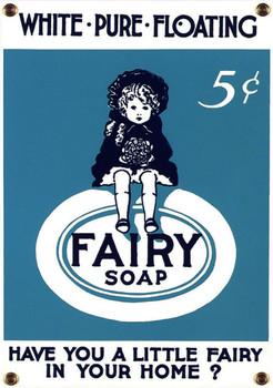 Fairy Soap Porcelain Sign