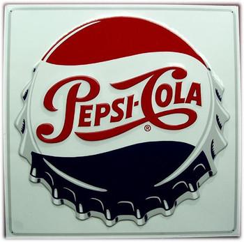 Pepsi-Cola Cap Sign