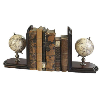 Globe Bookends (Set of 2)