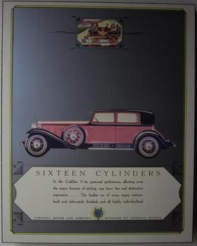 Cadillac 16 Cylinder