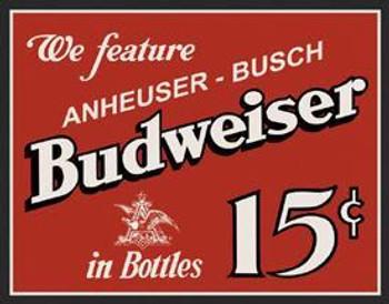 Budweiser - 15 cents (DISC)