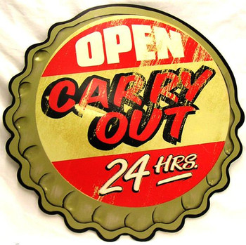 Open Carry Out 24 Hrs.
