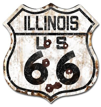 Route 66 Illinois (rustic)