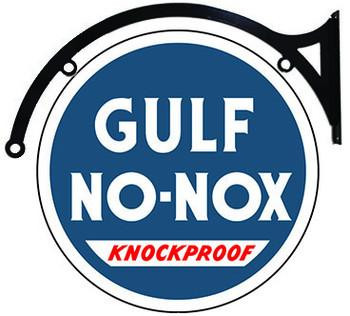 "Gulf No-Nox 22"" disc Hanging"