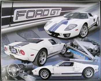 Ford GT 2007 Metal Sign